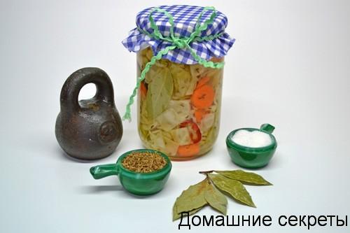 Маринованная капуста рецепт