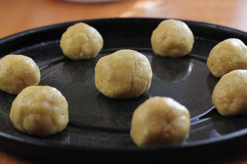 Арахисовое печенье на сливочной карамели 08