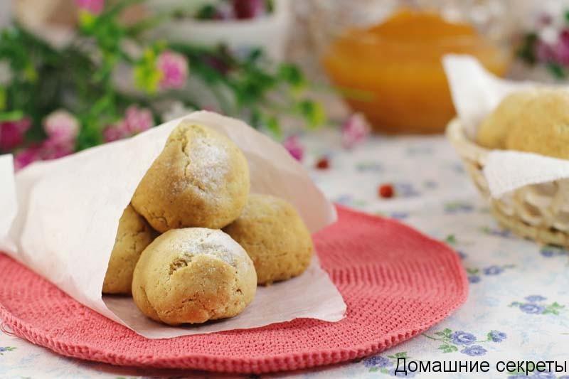 Арахисовое печенье на сливочной карамели 10