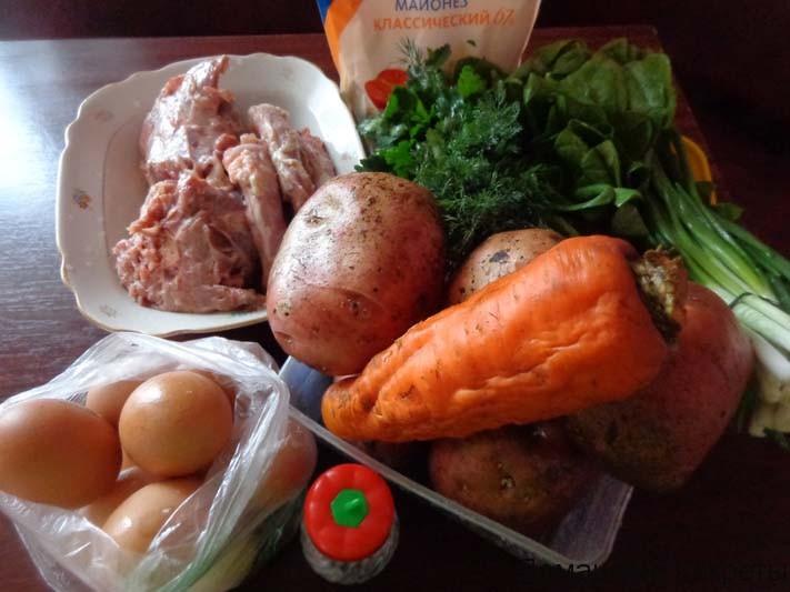 борщ рецепт приготовления