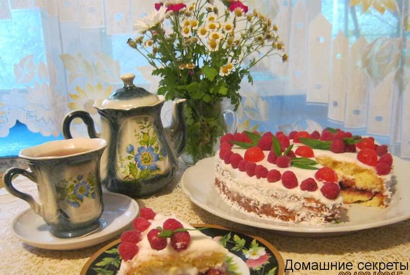 простой и вкусный торт