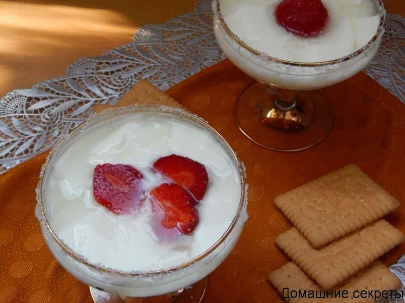 Приготовление йогурта в мультиварке