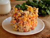 Рецепты салатов с мясом