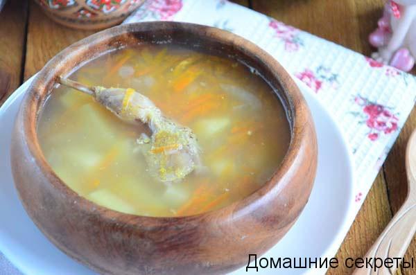 Суп с тыквой и перепелкой: попробуйте новый рецепт