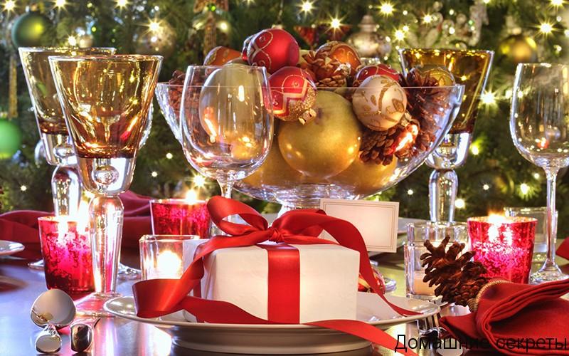 Как украсить праздничный стол в год Петуха