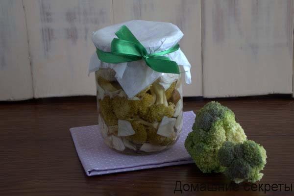 Вкусная заготовка из капусты на зиму