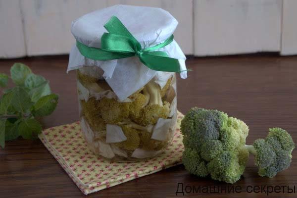 Вкусная заготовка из капусты