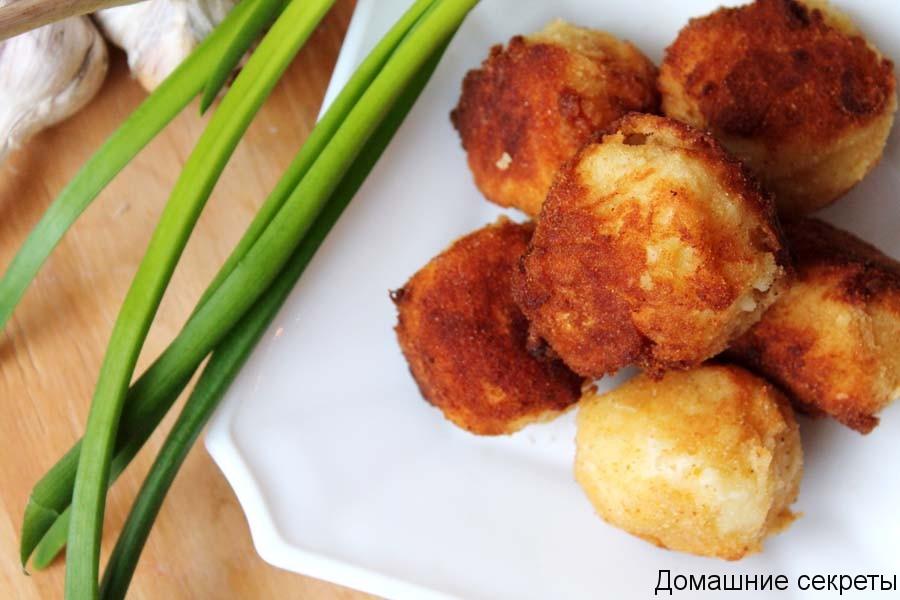 Картофельные крокеты рецепт
