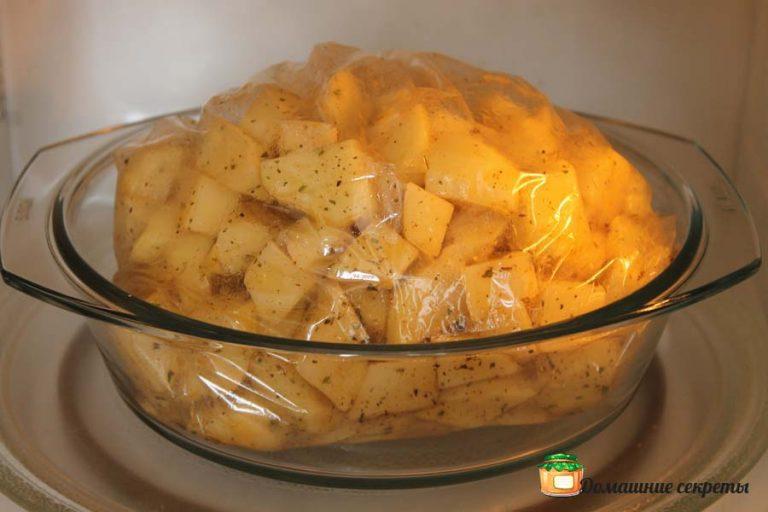 Как приготовить картофель в микроволновке рецепты