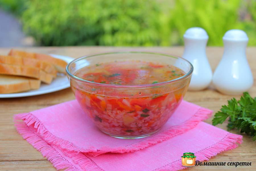 Рецепт гречневого супа в мультиварке